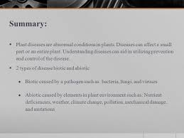 Types Of Plant Disease - diseases unit plant pests objectives 1 explain diseases as