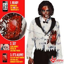 Zombie Bride Groom Halloween Costumes Digital Costumes Morph Costumes