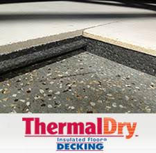 thermaldry insulated floor decking for the home pinterest
