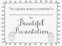cupcake wars yw activity printable certificates u0027m mormon