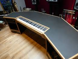 Diy Studio Desk Uncategorized Home Recording Studio Desk Plan Cool With Best
