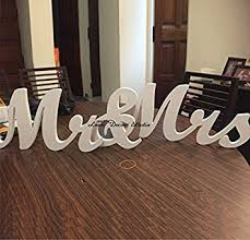 mr and mrs wedding signs large size mr and mrs sign tinksky wedding