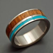mens wooden wedding bands wooden wedding rings titanium ring titanium wedding rings