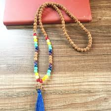 natural stone beads necklace images 7 chakra natural stone necklace mala beads 108 mala beads necklace jpg