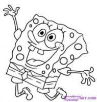 how to draw spongebob squarepants lessons drawing for kids to