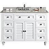 White Bathroom Vanity 48 Inch by Amazon Com 48 Inch Vanity Sink Tops Bathroom Sinks Tools