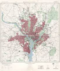 Map Of Washington by Large Scale Detailed Topographical Map Of Washington And Vicinity
