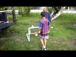 Backyard Football Goal Post Diy Mini Goal Post Project Youtube