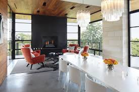 Hill Country Dining Room by Hill Country Residence Andrew Pogue Seattle Architectural