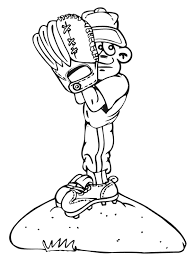 kids baseball coloring pages download free printable