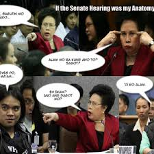Napoles Meme - napoles senate hearing turned anatomy class by bienmd meme center