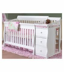 Convertible 4 In 1 Cribs Sorelle Tuscany 4 In 1 Convertible Crib Combo In White