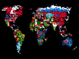 World Map With Flags 15 Really Cool World Map Wallpapers U2013 Blaberize