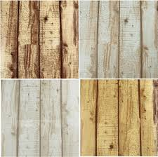 pvc cheap natural realistic rustic wood panel grained effect