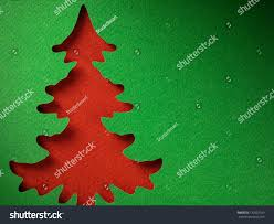 christmas tree paper cutting design papercraft stock photo
