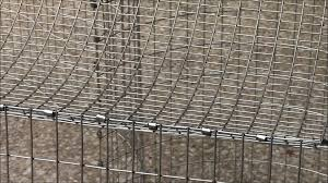 Stackable Rabbit Hutches How To Build An All Wire Rabbit Cage Youtube
