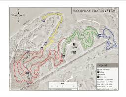 Ccw Map Midway Woodway Park Mountain Bike Trail In Woodway Texas