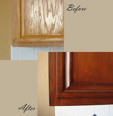 how to touch up stain kitchen cabinets marvelous how to touch up stain kitchen cabinets staining oak of