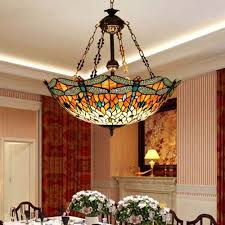 Stained Glass Light Fixtures Dining Room Stained Glass Chandelier In Dining Room Search Living