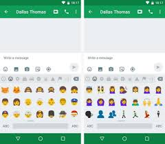 new android emojis how to get android nougat s all new emojis right now android