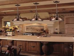 rustic pendant lighting kitchen island copper bar stools kitchen