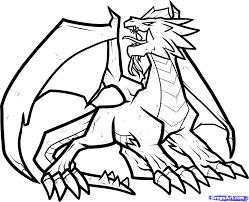 fire breathing dragon coloring glum