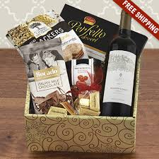 wine gift baskets free shipping cucina italiana wine gift box capalbos gift baskets