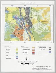 Creede Colorado Map by Colorado Gem U0026 Mineral Locations Robert Michael Gems