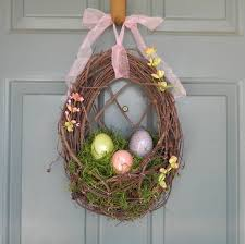Easter Decorations Etsy by 566 Best Easter Spring Wreaths Images On Pinterest Spring