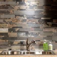 Natural Stone Backsplash Tile by Self Adhesive Backsplash Kitchen Tile Panels Natural Stone Veneer
