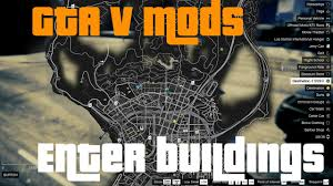 gta 5 pc singleplayer mods open all interiors youtube