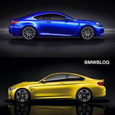 lexus rc f stance bmw m4 vs lexus rc f choose your favorite