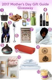 2017 mother u0027s day gift guide giveaway u2014 yogabycandace
