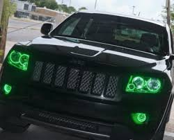 jeep grand cherokee fog lights 2005 2010 jeep grand cherokee led fog light halo kit by oracle