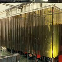 Retractable Welding Curtains Side Retracting Welding U0026 Grinding Screen Shaver Industries