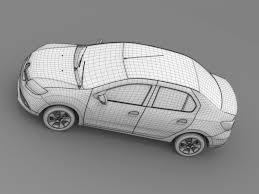 renault symbol 2015 renault symbol 2015 3d model in compact cars 3dexport