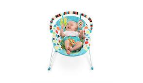 bright starts kaleidoscope bouncer baby george at asda
