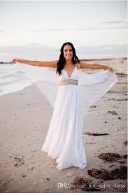 aliexpress com buy lightweight chiffon beach wedding dresses