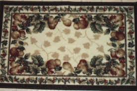 Kitchen Curtains With Grapes by Shaw Fruit Kitchen Rug Grapes Apples Pears