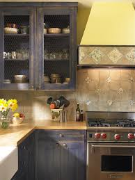 kitchen cabinet kitchen shabby chic style with wood cabinets wire