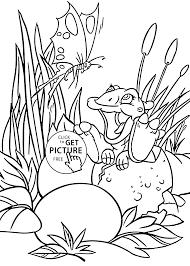 dino land coloring pages kids printable free