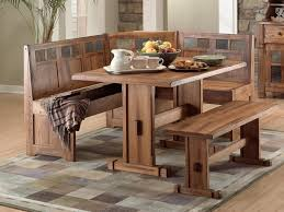Kitchen Bench Table Graceful Rustic Kitchen Table With Bench - Benches for kitchen table