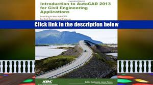 Audiobook An Introduction To Autocad 2013 For Civil Engineering