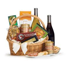 wine and cheese baskets buy wine gift basket from florals