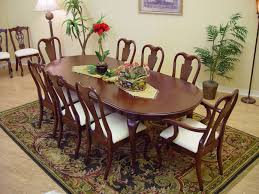 Mahogany Dining Room Furniture Dining Room Captivating Big Oval Dining Table As One Of Mahogany
