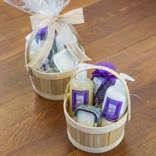 lavender gift basket lavender mini spa gift basket the santa barbara company