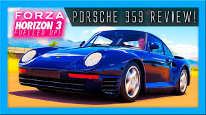 custom porsche 959 80 u0027s speed machine driving the porsche 959 forza horizon 3