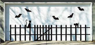 halloween garage door inspiration
