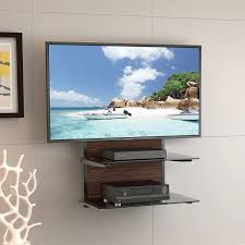 Tv Corner Wall Mount With Shelf Corner Wall Shelves For Electronics