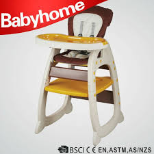 High Chair Desk Fashion Coffee Color Baby Connection High Chair Table Desk Chair